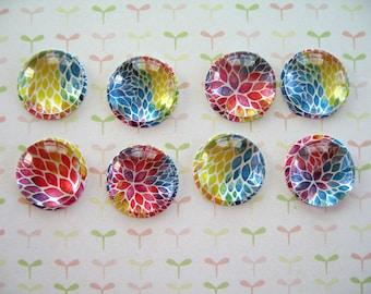 Small Muticolors Glass Thumbtack Push Pins, Small Round Glass Notice Board Pins, Push Pin