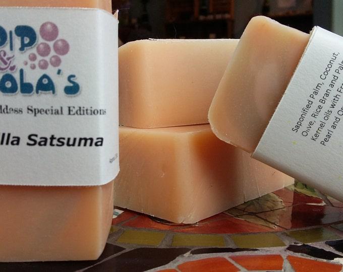 Vanilla Satsuma Barely-Scented Soap (Soap Goddess Special Edition)