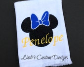 Cheer Dance Worlds Disney Vacation Embroidered Sports Fingertip Towel for Cheerleaders, Dancers, Girls, Team Towels, Personalized Name Added