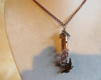 "18"" Copper Bird's Nest Necklace, Necklace, Copper, Bird, Nest"