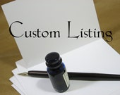 Custom Order for Brittany