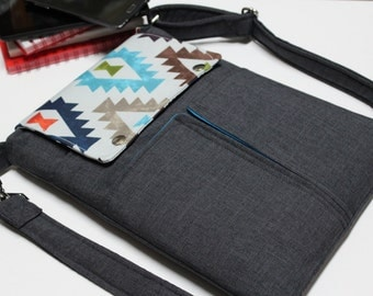 "NEW! iPad Case, iPad Pro Bag iPad Air Case iPad Sleeve 11"" Macbook Air Kindle Tablet cover-Classy Aztec"