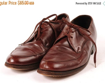 30% OFF 1960s Mens dress shoe Size 8 EE Brown  Sears Brand