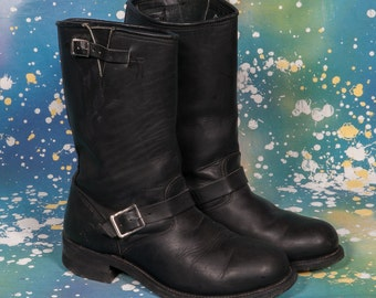 Double H Engineer Boots Men's Size 10 .5 E Wide