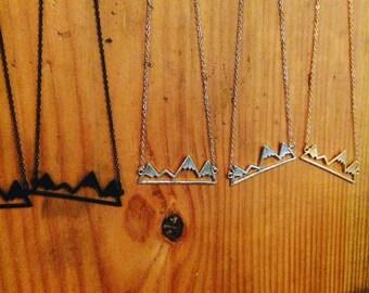 Mountain necklaces