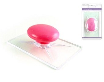 Forever in Time Clear Stamp Acrylic Applicator Mount with Handle CS001