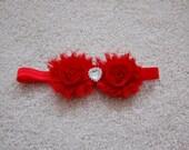 Shabby Chic Valentine's Headband