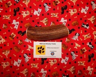 """Organic Large Elk Antler Dog Chew """"Made in Montana"""" (Lot C90)"""