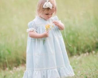 Custom Made Heirloom Dress and Slip Sizes 1 thru 4
