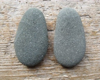 LARGE Natural Beach Stone Cabinet Knobs GREY GREEN Beach Stone Cabinet Knobs