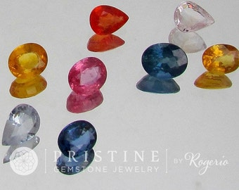 Wholesale Loose Natural Sapphire Lot Sale 8.60Cts for Jewellery