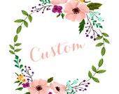 Custom Order for Penny Only!
