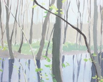 "8x10"" print - landscape art - ""Marsh 1"""