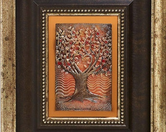 In the Spirit of the Apple Tree:  Bronze Archetype Sculpture