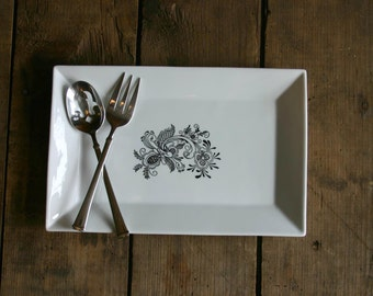 Swedish Rosemal Platter
