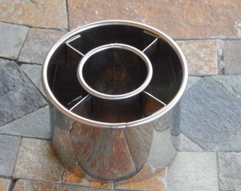 """Doughnut Cutter - 2 1/2"""" Stainless Steel Cutter - Donut Cutter - Ateco cutter"""