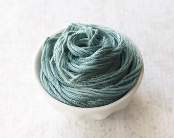 DEEP FENNEL Classic Colorworks hand-dyed embroidery floss cross stitch thread at thecottageneedle.com