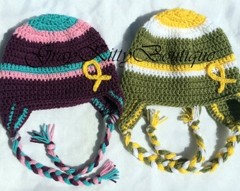 Hat for Ellie's Hats - Donate a hat - Childhood Cancer Awareness