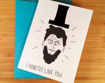 Abe Lincoln Love Note