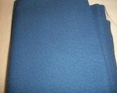 Blue Gray Cotton Blend Fabric