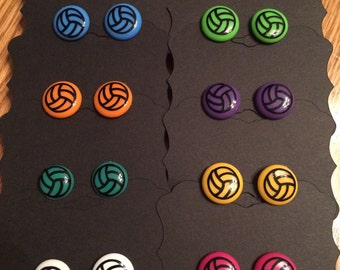 Volleyball Earrings nickel free