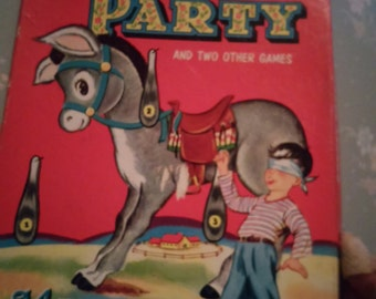 1941 pin the tail on the donkey