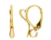 Gold Vermeil Lever Back Earwires