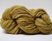 Thick and Thin Yarn Slub TTS Handdyed  Fine Merino 6617 Camel
