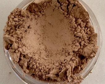 MOCHA LIGHT #1 Foundation Organic Mineral Foundation Cosmetics Vegan Gluten Free