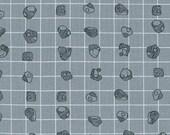 Carkai Grid Bits in Titanium, Carolyn Friedlander, Robert Kaufman Fabrics, 100% Cotton Fabric, AFR-15795-357 TITANIUM
