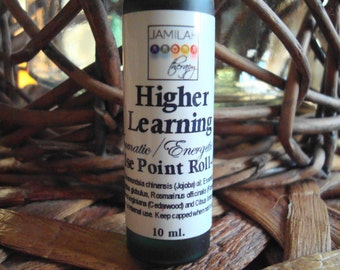 Essential Oil Pulse Point Blend - Higher Learning -  Concentration/Focus Blend - Study Alert - Mental Agility - Brainpower, Essential Oils