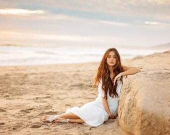 JEWEL = Bridal Barefoot Sandal - Barefoot Sandal - Footless Sandal - Beach Sandal