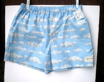 Buffalo Cloud Sleep Shorts - 100% Cotton