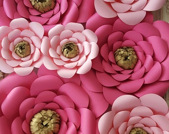 Large Paper Rose Extra Large Paper Flower Photo Prop Backdrop RESERVED