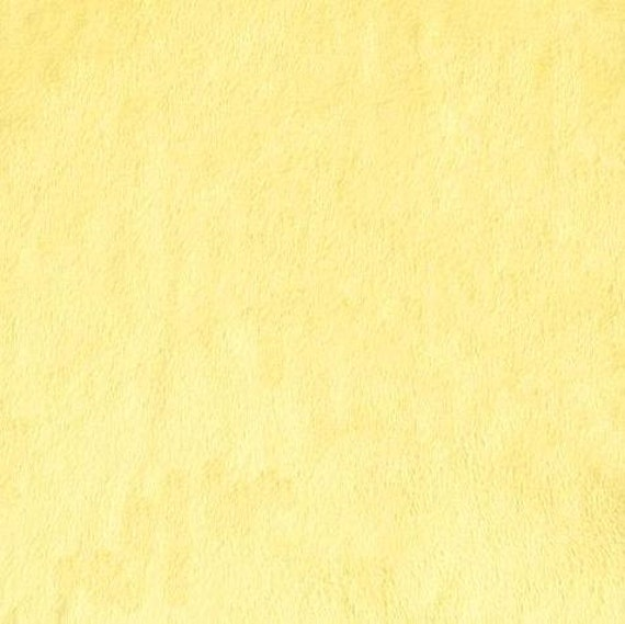 Minky Cuddle 3 Smooth Fabric/Bright Yellow/Sold by The Yard/Yellow Minky/Yellow Cuddle/Solid Minky/Medium to Heavy Weight/HALF YARD CUTS
