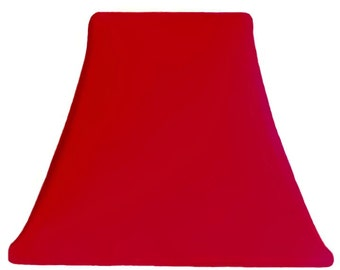 Ruby Red - SLIP COVERS for lampshades
