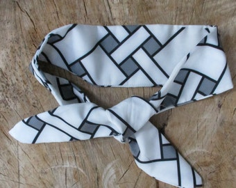 Tribal Print headband, Geometric Print headband, Hairband, Hair accessory