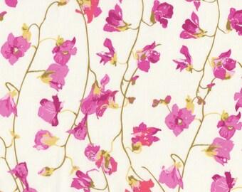 "Liberty Tana Lawn PEASEBLOSSOM - 17"" wide x 13"" (43cm x 33cm) - pink"