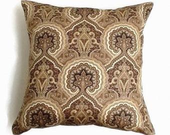 18x18 Pillow Covers, Print Pillow Covers, Multicolor Pillows, Decorative Pillows, Earth Tones Pillows, Home Decor
