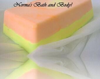 mango and lemon soap