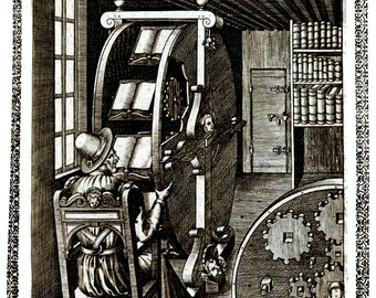 Dell' Artificiose Machine of Agostino Ramelli