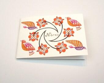 Mini Notes - Flying Bird Design