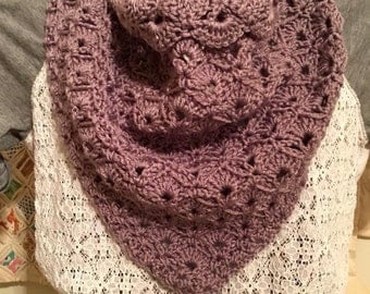 Shelby Cowl - Lavender - Ready to Ship