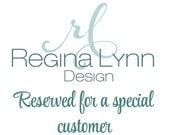 Reserved for Monica - Stainless Steel Ring