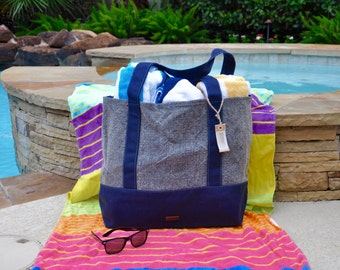 50% OFF SALE No Embroidery Jute Beach Tote Boat Bag-Teacher Gift Durable