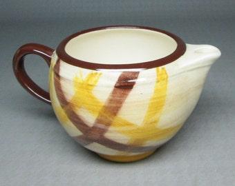 Vernon Kilns ORGANDIE creamer california pottery