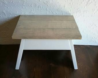 Wood Kitchen Step Stool - Kitchen Footstool - Wood Footstool - Wooden Step Stool - Kids Step Stool - Personalized - Kids Footstool