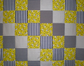 Charlie Brown & Snoopy  Patchwork  Quilt