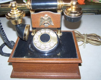 Vintage 1974 Western Electric Designer Rotary Dial Telephone