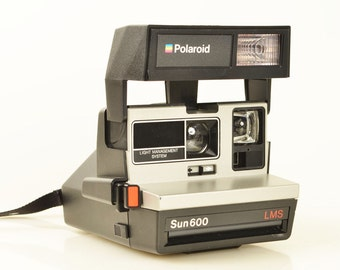 Polaroid LMS SUN 600 Instant Film Camera Works Perfectly, Advanced Light Management System